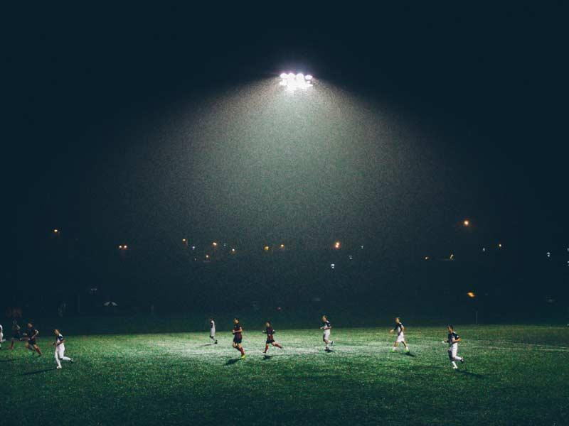 LED SPORT Zewnętrzna oświetlenie obiektów sportowych - ORLIKI
