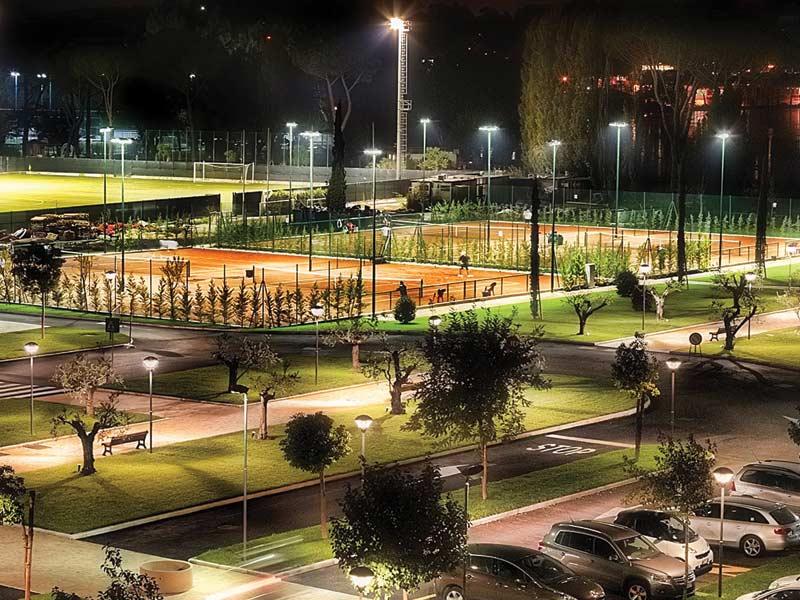LED SPORT oświetlenie LED obiektów sportowych w gminach