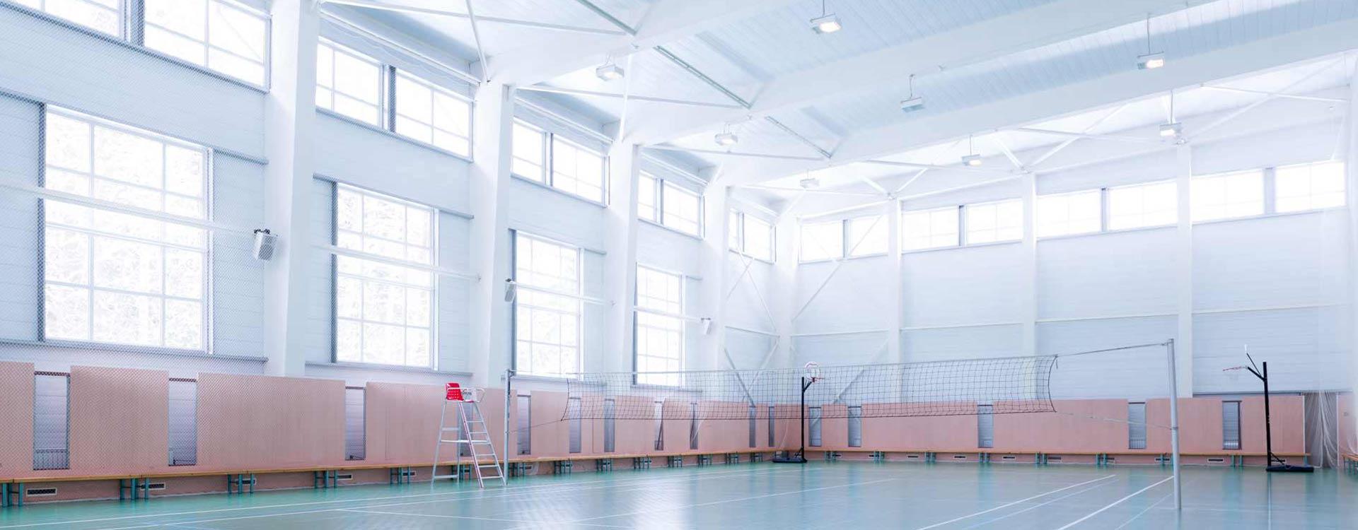 LEDSport / Oświetlenie LED dla Sportu / Sale gimnastyczne / Hale Sportowe