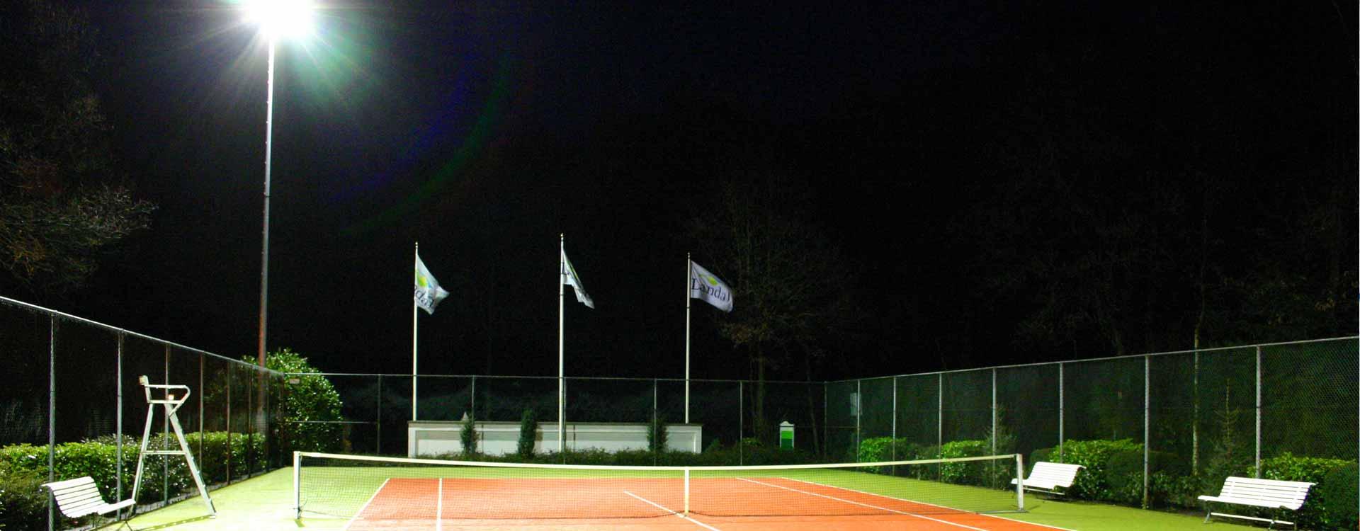 Przewodnik po oświetleniu kortów tenisowych ITF - wprowadzenie