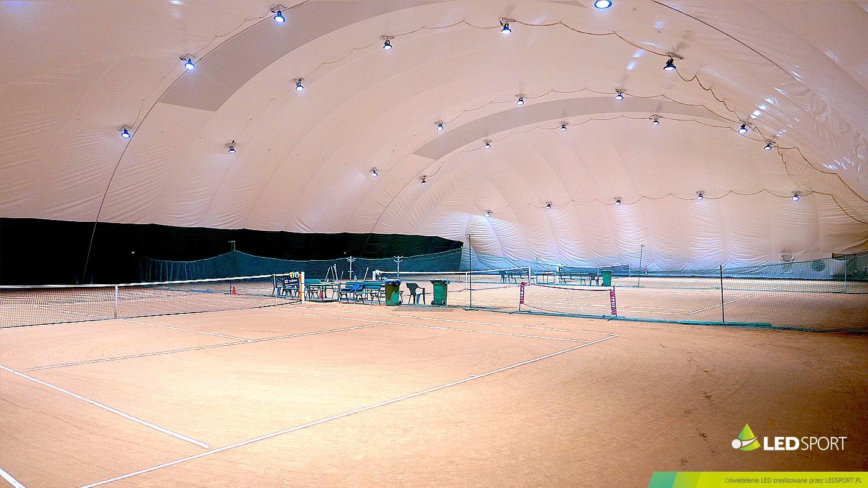 LEDSport Oświetlenie LED korty tenisowe Hala Pneumatyczna/ Balon