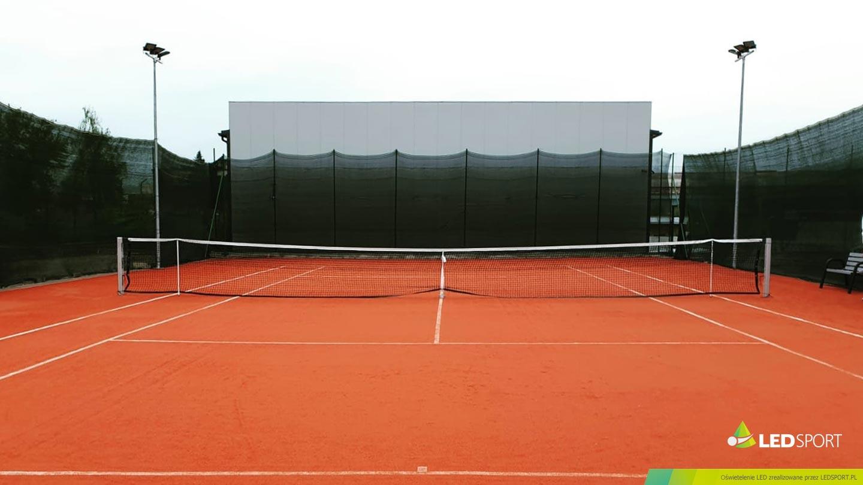 LEDSport Oświetlenie LED korty tenisowe odkryte